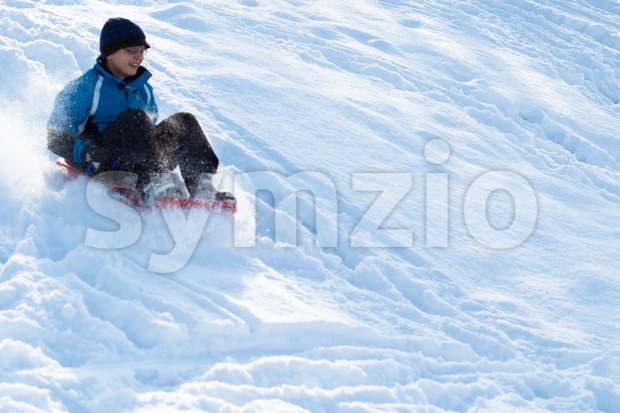 Winter fun Stock Photo