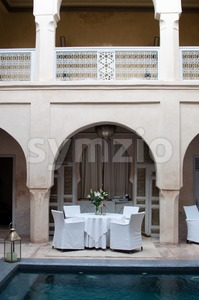 Marrakesh Hotel Stock Photo