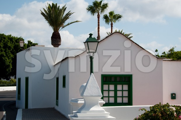 Typical gorgeous house on Lanzarote,Canary Islands, Spain
