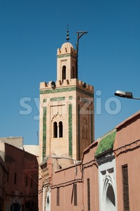 Small Mosque In Marrakech Stock Photo