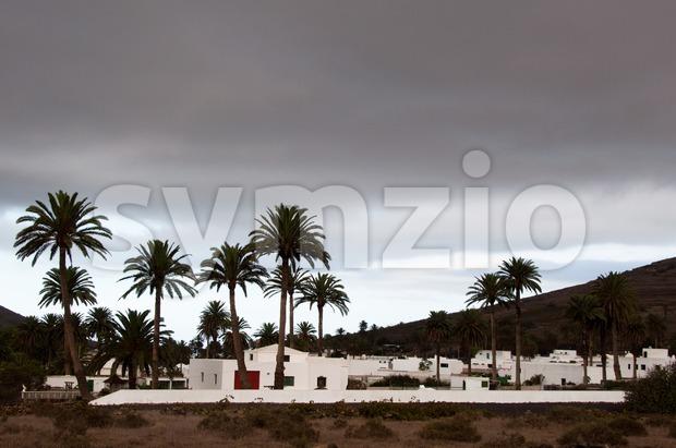 Haria, Lanzarote Stock Photo