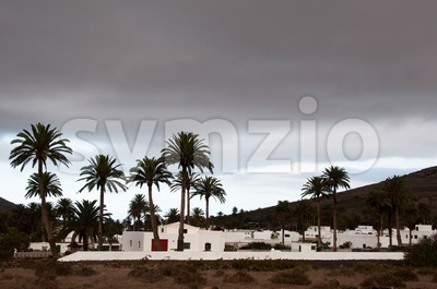 Haria, Lanzarote Stock Photo