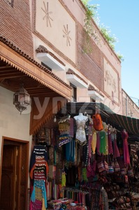 Clothes For Sale In Morocco Stock Photo