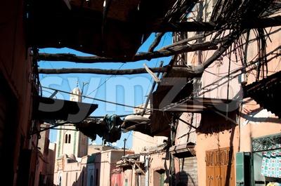 Marrakech Medina, Morocco Stock Photo